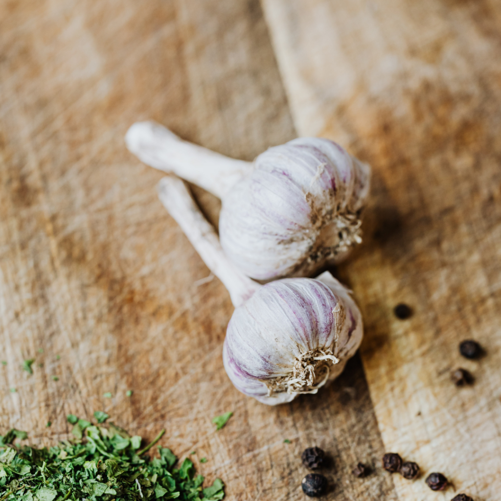 Supplement Guide: Whether you love or hate garlic, you can't deny it has lots of health benefits. But do you know why garlic is healthy? Garlic produces a chemical called allicin (which is also responsible for garlic's smell) which makes garlic work and prevent and fight against certain conditions.
